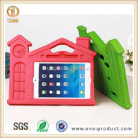 Shockproof case for ipad mini house design for ipad case with stylus holder