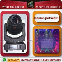 3D 280w 10r moving head light pro stage lighting with spot beam wash 3-in-1 function zoom