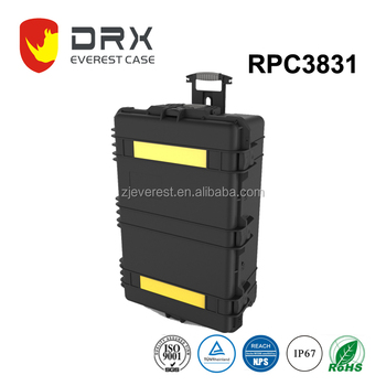 New Hot Case ! Rugged Hard Plastic Equipment Case with foam
