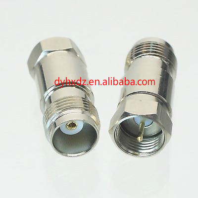 zhenjiang manufacturer Conversion Adapter F male to TNC female rf connector for Communication