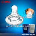 Liquid injection moulding silicone (rubber) for (making) baby nipples