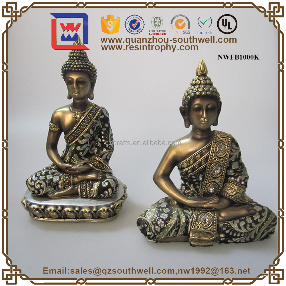 wholesale resin and cross religious crafts large buddha statues for sale