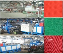 PVC floor spray spinnereted carpet mat machine/production line
