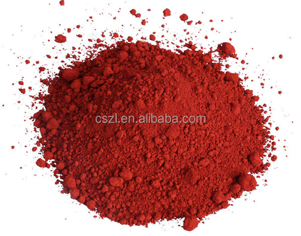 Cosmetics pigment powder prices 130 Iron Oxide red