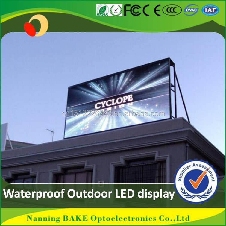 Hot sale good quality high bright matrix led new item outdoor p10 outdoor led screen