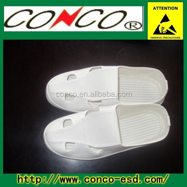 ESD antistaic safety pvc slippers