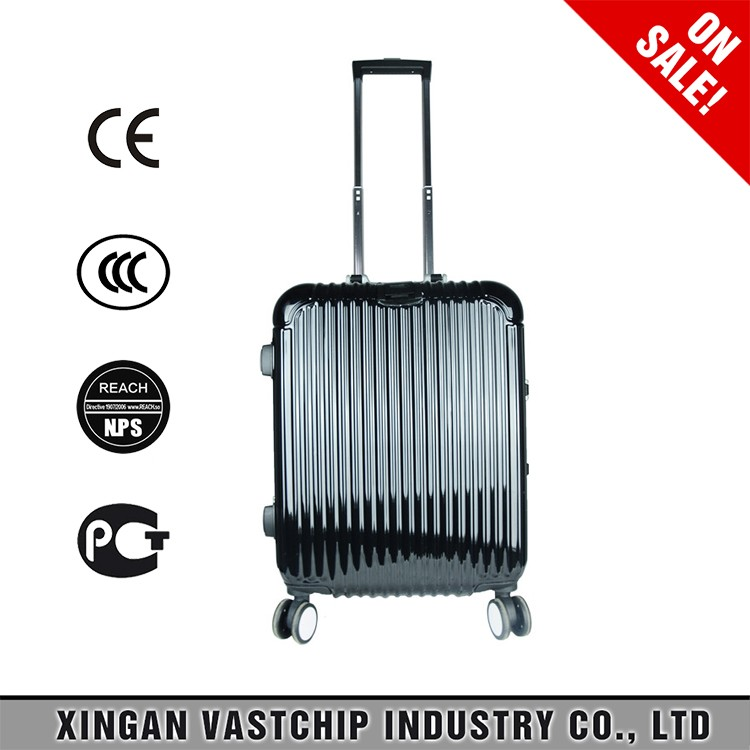 2016 travelmate fancy pc aluminium vintage suitcase