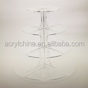 Rotating Ferris Wheel Lighted Acrylic Cupcake Stand