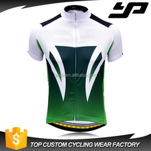 Wholesale Customized Specialized cycling short sleeve shirt with zipper