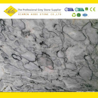 White Grey Jade interior decoration marble stone panel walls