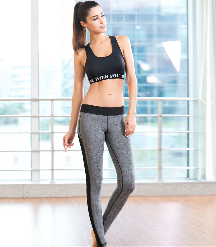 Hot Custom Sports Women Sexy Fitness Gym Tights Leggings Yoga Pants Girls