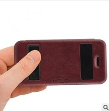 Cell Phone Protector Flip Leather Phone Case For Iphone5, Book Case For Iphone5c