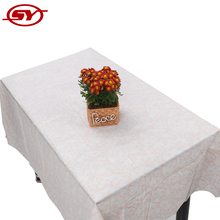 flannel back plastic tablecloth