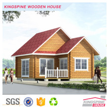 Low price Prefabricated Log House security guard house KPL-006