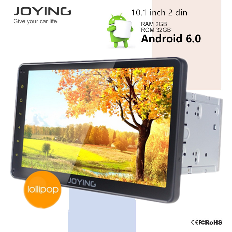 Auto Spare Parts Car-Dvd Dvr Mirror Link Pip Joying 10.1 Android 2 Din Dvd Car Audio Player