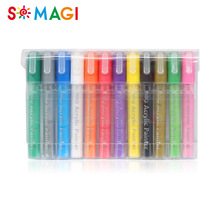 Good effect SGS certification refillable indelible ink marker pen for quick drawing