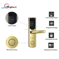 China Manufactory Smart rfid key card hotel lock access control system