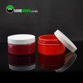 Empty plastic cream jar 250g with screw lid for personal care