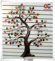 The Show Pieces For Home Decoration Product The Colourful Iron Tree