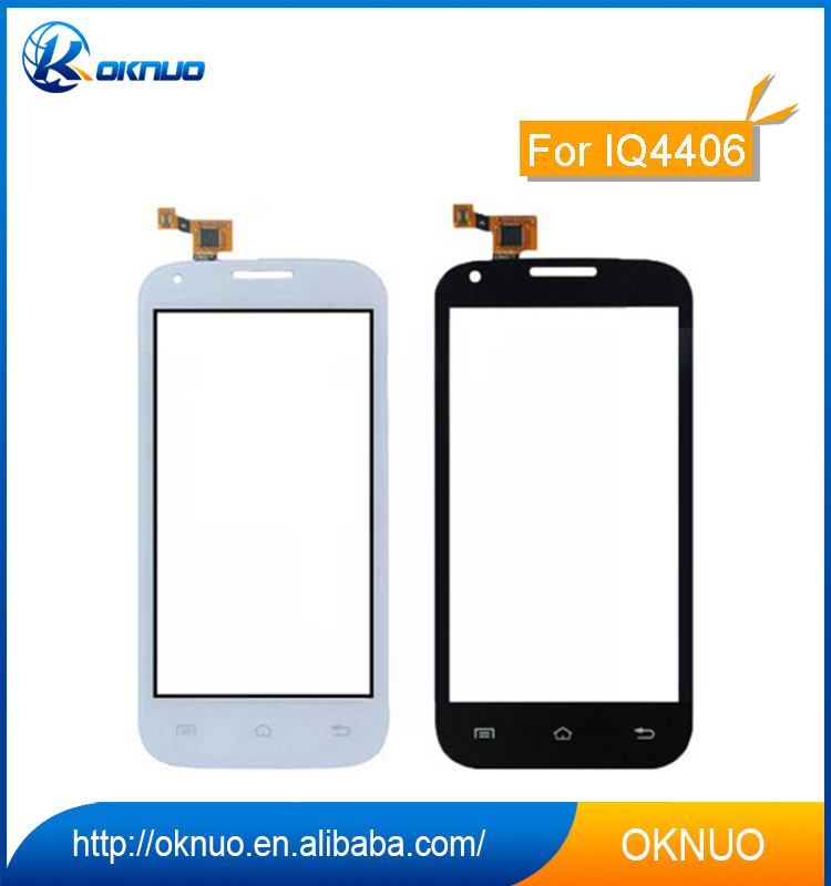 China Supplier Replacement LCD Display Assembly for Fly IQ4406 LCD Screen Touch Panel Digitizer Repair /.