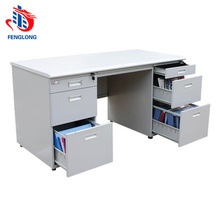 Steel office furniture luxury executive office writing desk