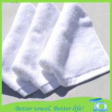 100 Cotton White Towels 10x10 Baby Washer