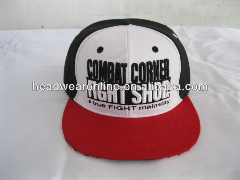 6 panel custom colorful flex fitted snapback cap hip hop cap hat made in Guangdong