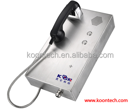 Cheapest jail telephones armored wire telephone