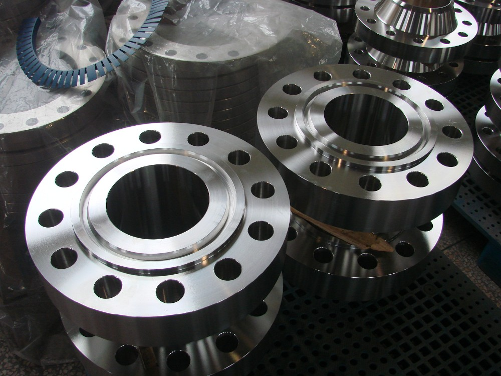 Forged Steel Ansi Flanges : Forged steel weld neck rtj ansi b class flange