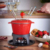 Cast iron mini chocolate fondue pot ,cheese fondue cookware set