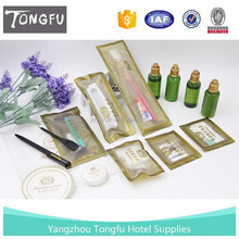 High quality hotel amenities and disposable bathroom accessory kits