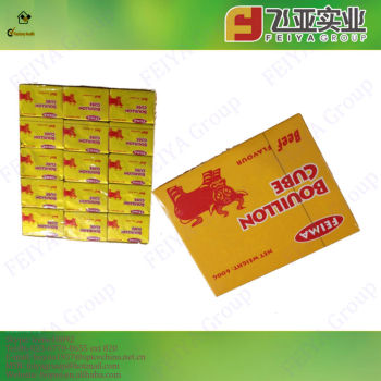 China Manufacturer Stock Bouillon Soup Cubes
