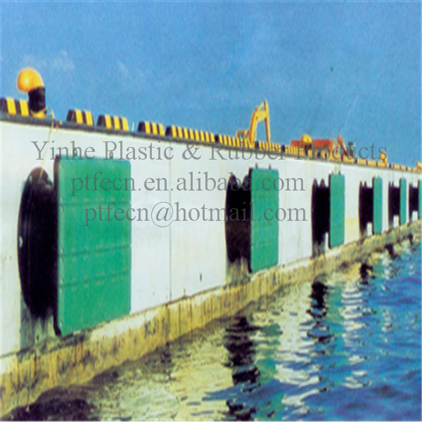 UHMW-PE Plastic Boat Ship Skid Fender Products