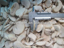 Chines Steamed Frozen Champignon Mushroom Sliced with High Quality