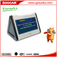 Hard drive Karaoke singing machine with touch screen