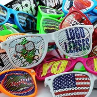 Promotional Retro Sunglasses Customized With Printed