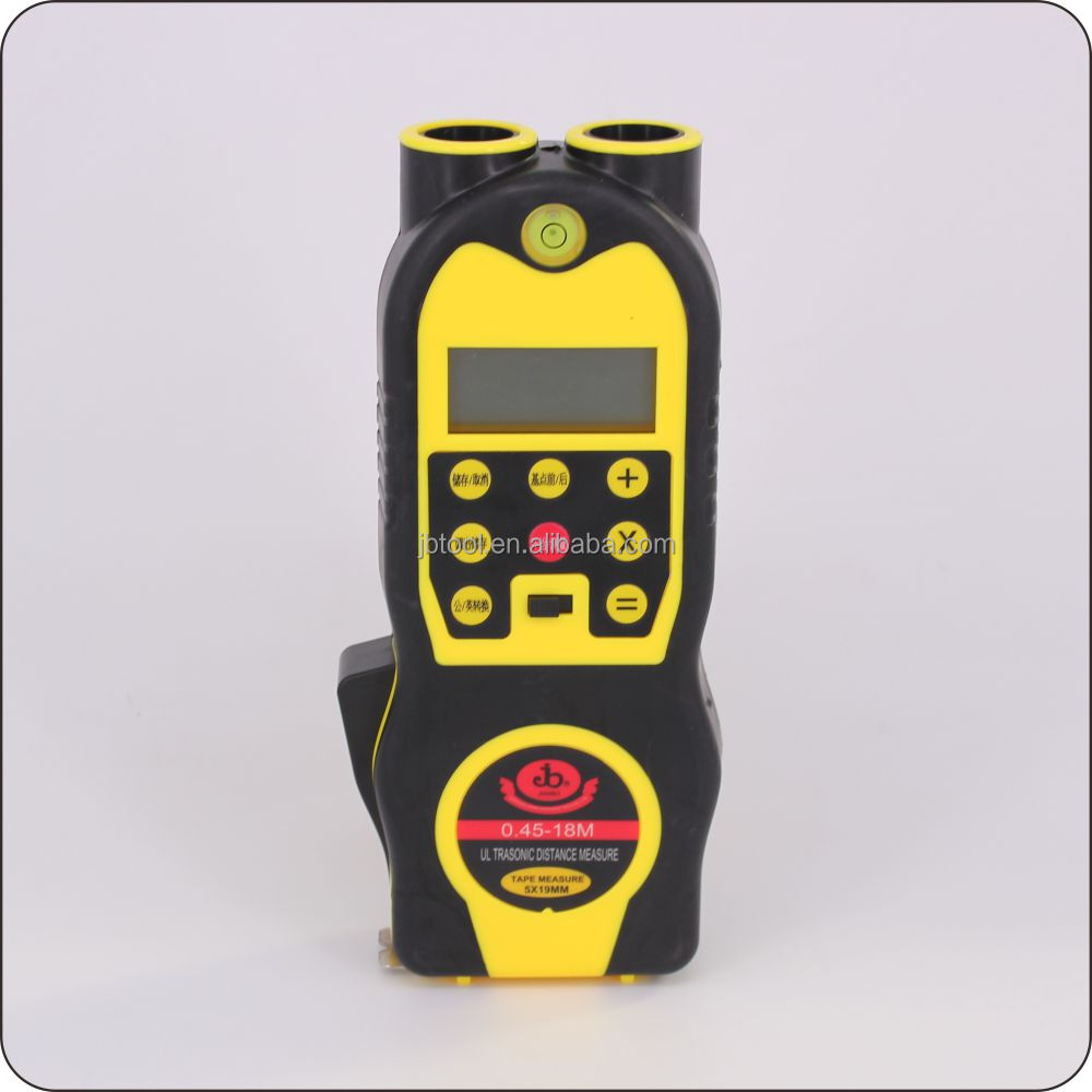China Cheap Ultrasonic Distance Meter with Measuring Tape