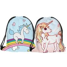 Custom Color Life Sublimation Drawstring Bag Waterproof Backpack Bag
