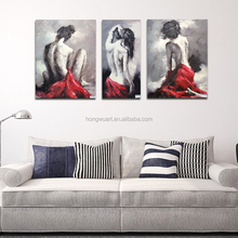 Beautiful Nude Women Printed Painting Girl Sexy Image Oil Painting Reproduction