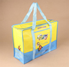 wholesale customized laminated zipper pp non woven bags