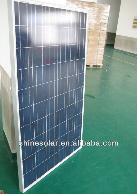 150w Polycrystalline solar panel good price for india market