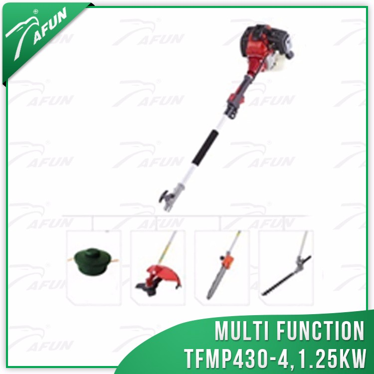 4 in 1 multi function tools for grass cutter,pole saw and hedge trimmer
