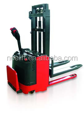 small turning radius forklift for 2ton electric pallet stacker