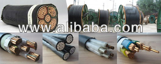 YJV22 0.6/1KV 4X50+1X25 76/132KV XLPE insulated power cable