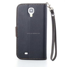 PU leather flip cover for samsung galaxy s4 active with card holder