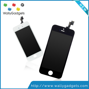 Grade AAA+++ Guarantee For iPhone 5S LCD with Touch Digitizer Display Assembly Screen Replacement No Dead Pixel