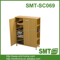 NEW K/D FLAT PACK MELAMINE MFC MDF SIMPLE SHOE RACK