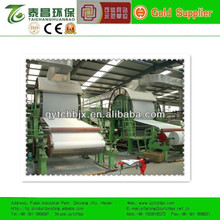 1092mm single cylinder and single wire tissue paper making machine