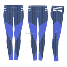 (Factory/low MOQ) Women Stretch Running Crossfit Athletic Sport Training Fitness Active Capri Yoga Pants
