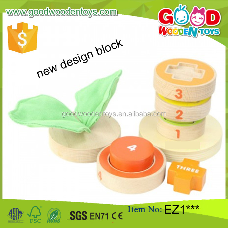 new baby toys 2017 Girls and Boys tree block toy china wholesale baby toy